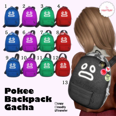 Pokee Backpack GachaAD