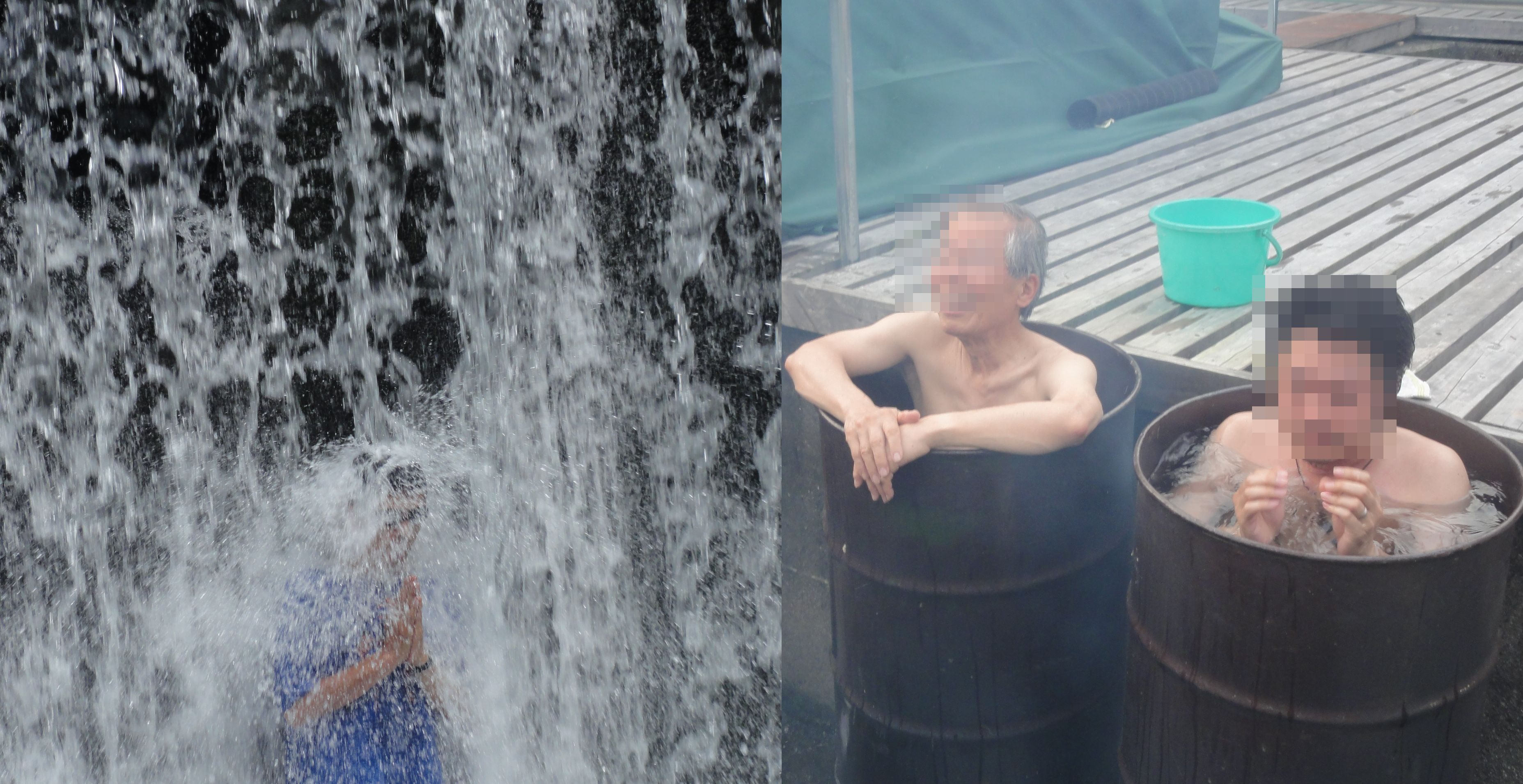 滝行&風呂