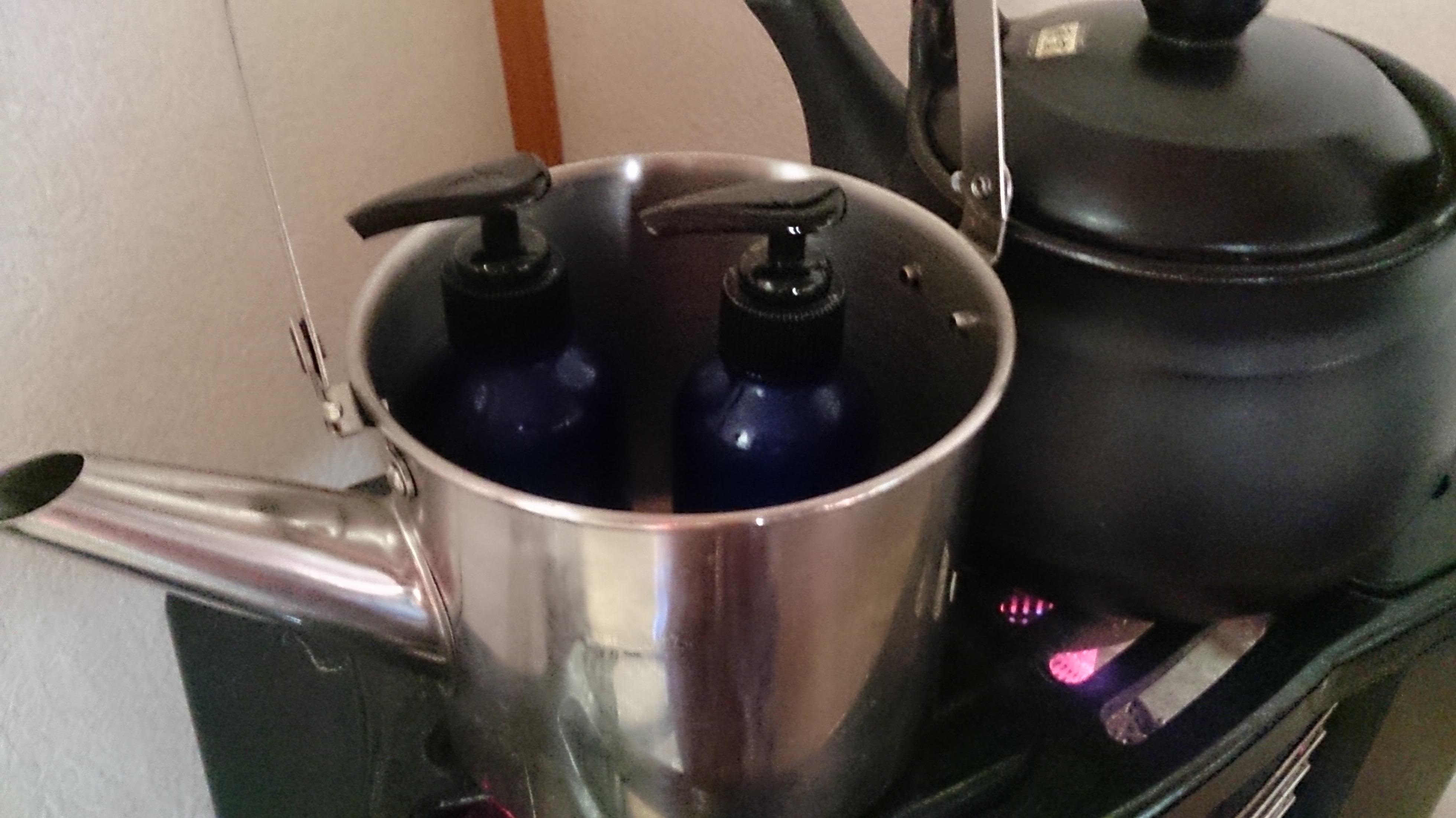 オイル湯煎