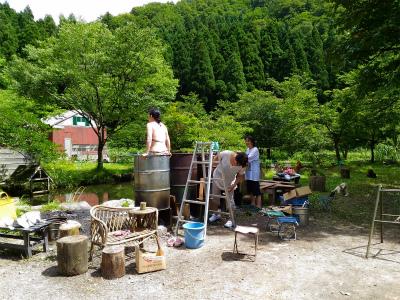 ドラム缶風呂2