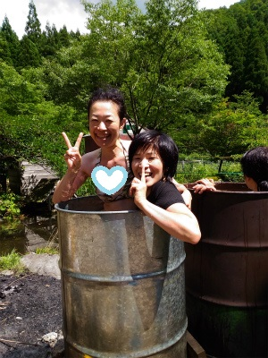 ドラム缶風呂5
