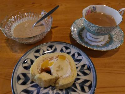 米粉ロールケーキ1