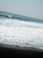 春、太平洋、波。