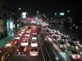 徳島の車列