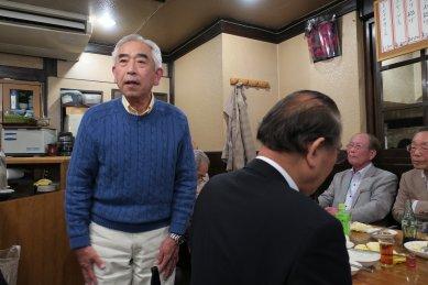 落語会・打上げat味菜里2
