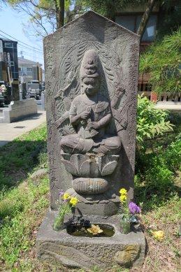 金蓮院愛染明王石像