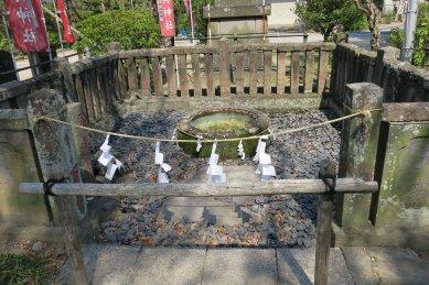 半田稲荷神社神泉遺構
