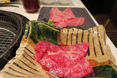 焼肉御膳の肉