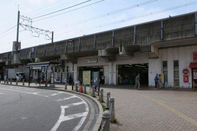 JR下総中山駅