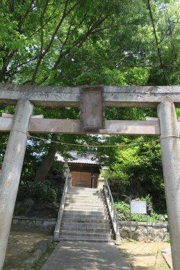 葛飾神社・鳥居