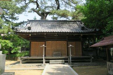 葛飾神社・社殿