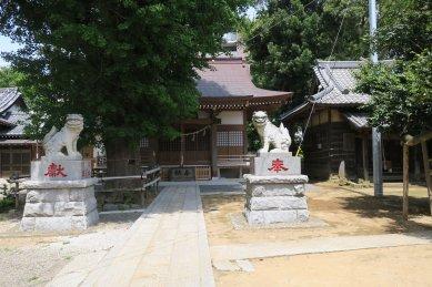 印内八坂神社・社殿