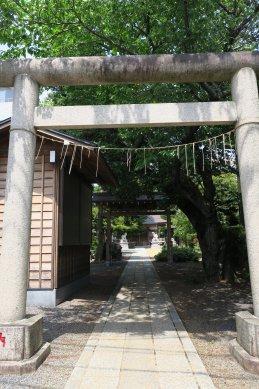印内八坂神社・鳥居