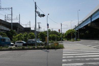 JR京葉線と国道357号