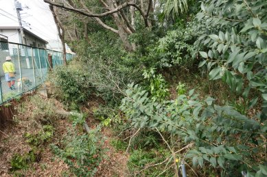 恋ケ淵村用水跡と鎌倉街道