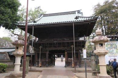 妙法寺仁王門