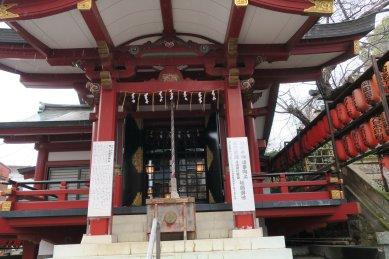 茶木稲荷社殿