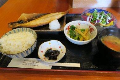 サバ塩焼定食@900円