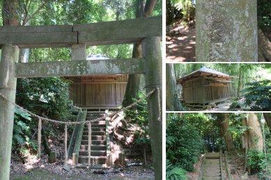 八幡神社(鳥居)