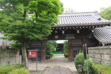 (西澄寺・武家屋敷門)