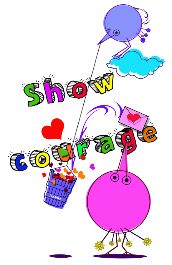 Show courage