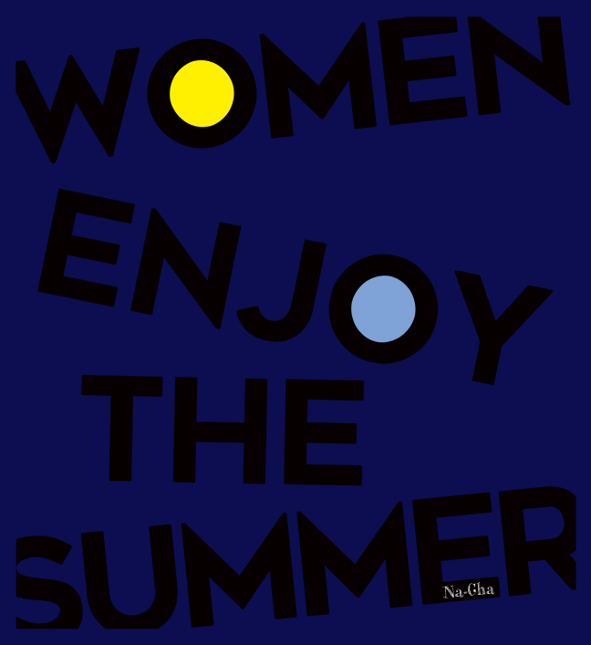 Women enjoy the summer1
