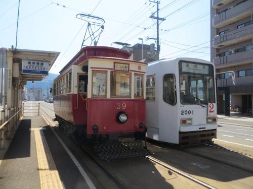 函館市電 レトロ電車