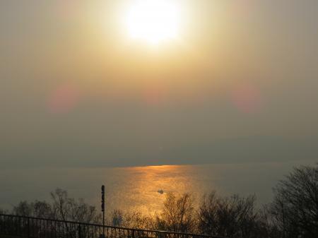 函館山からの夕日