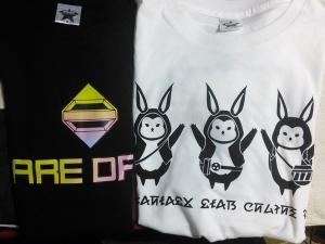 PSO2 Tシャツ