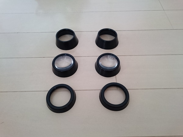 Homido 360VR レンズ、アタッチメント