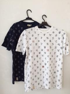 面・面・面Tシャツ