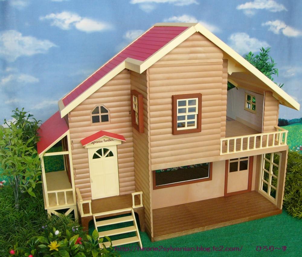 赤い屋根の大きなお家 フォト