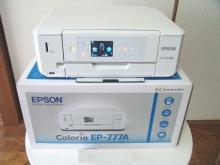 EPSON インクジェット複合機 カラリオ EP-777A