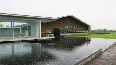 アクアイグニス温泉建物