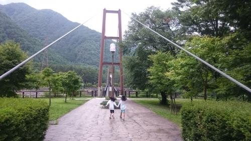 駒ケ岳こまくさ橋