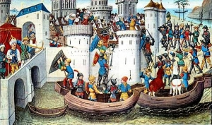 第4回十字軍によるコンスタンティノープル攻略