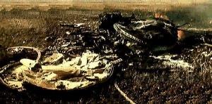 ソユーズ1号のカプセル残骸