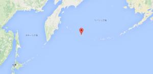 アッツ島の位置