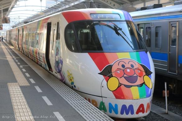 予讃線8000系アンパンマン列車ーSN