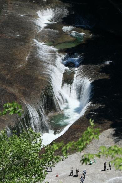 吹割の滝 俯瞰ーSN
