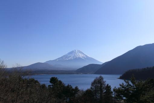本栖湖から富士山JPG-S