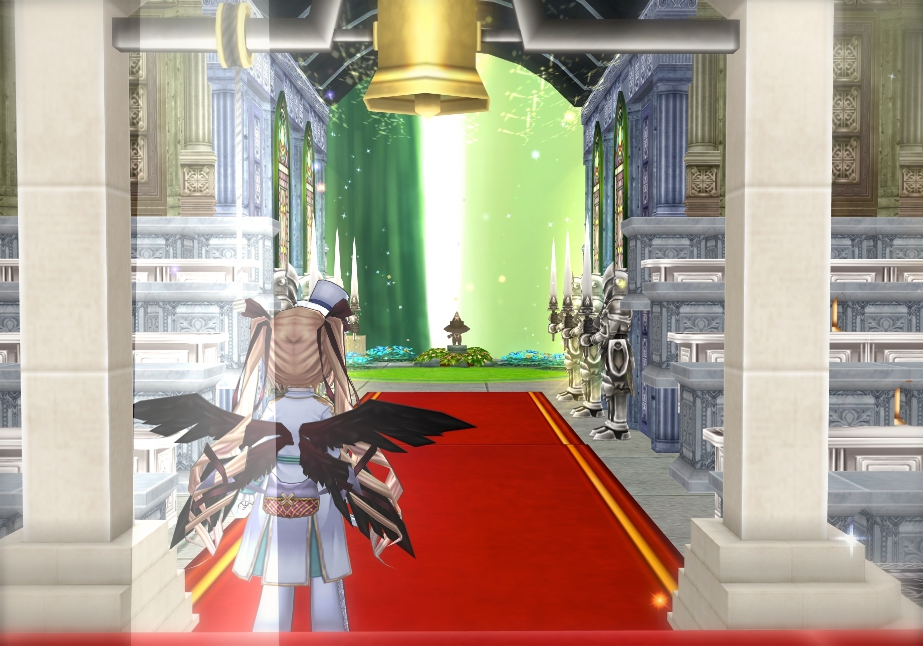04_新郎は鐘の下にて新婦を待つ