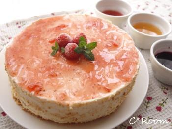 ケーキ(レアチーズ)01