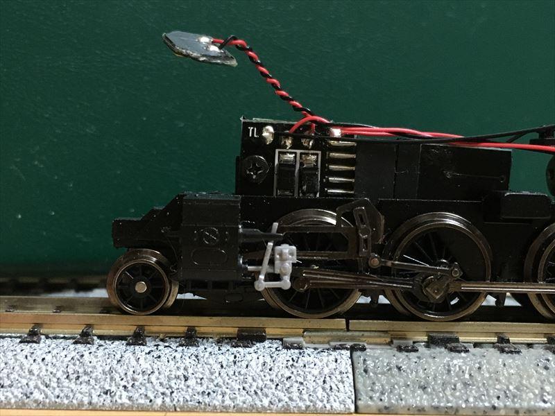 C11修復した先台車