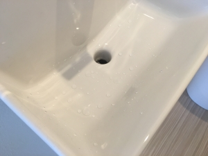 コフレル1年使用しても撥水状態が継続