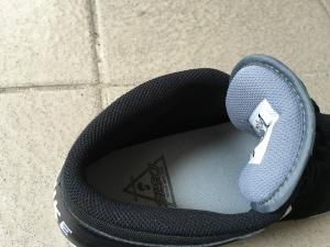 インソールを入れた靴
