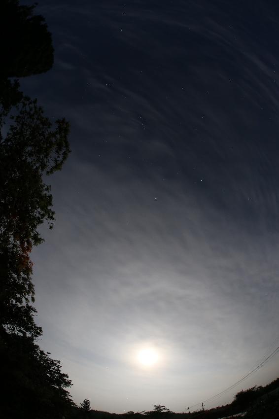 20160621梅雨の晴れ間の月夜