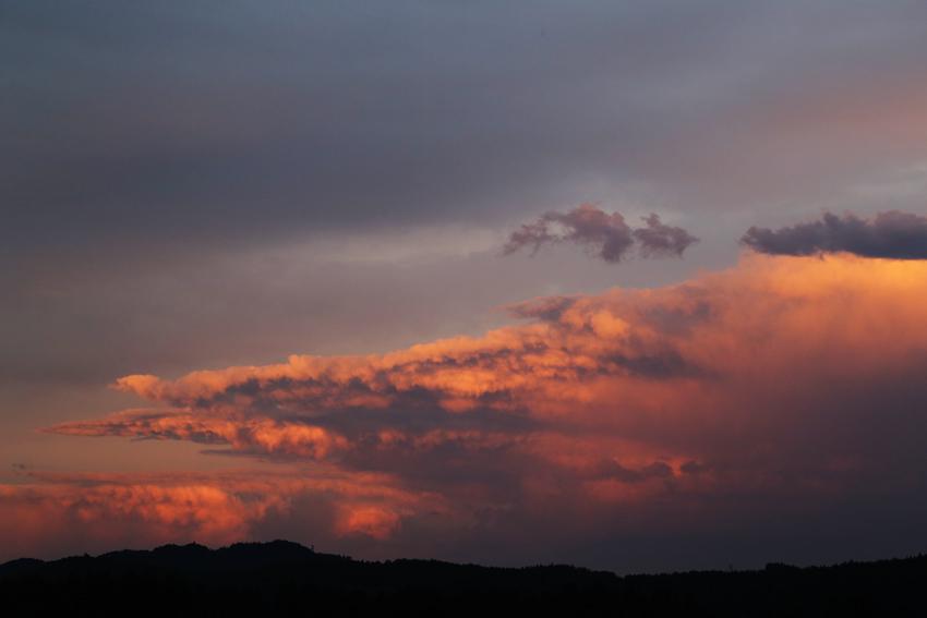 20160625夕焼け雲1