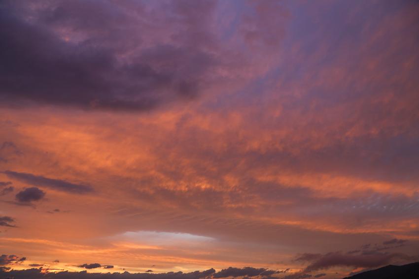 20160625夕焼け雲2