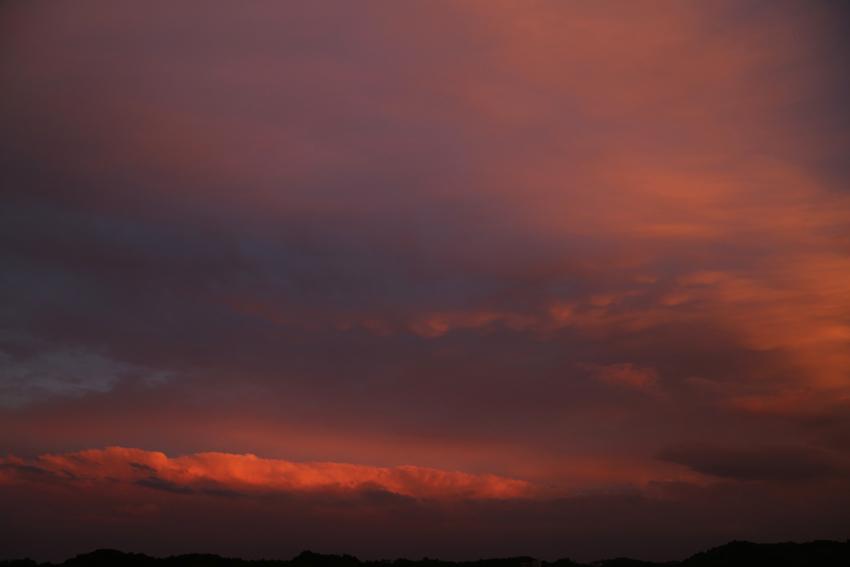 20160625夕焼け雲3